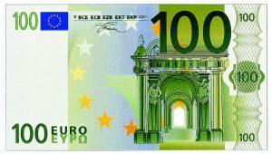 stockbeeld_100euro